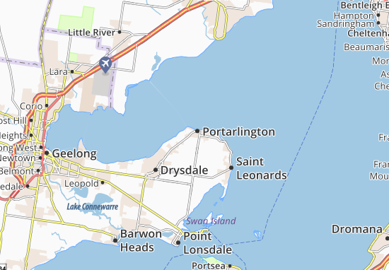 Portarlington Map