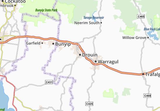 Drouin Map