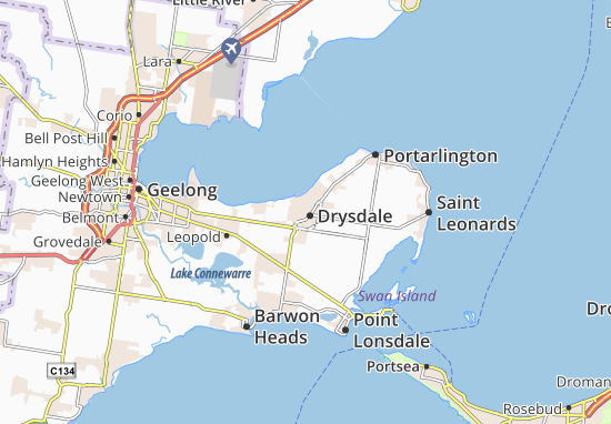 Drysdale Map