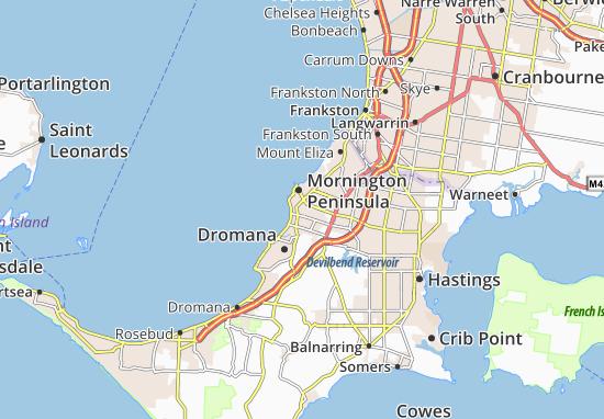 Mapas-Planos Mornington