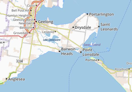 Mappe-Piantine Ocean Grove