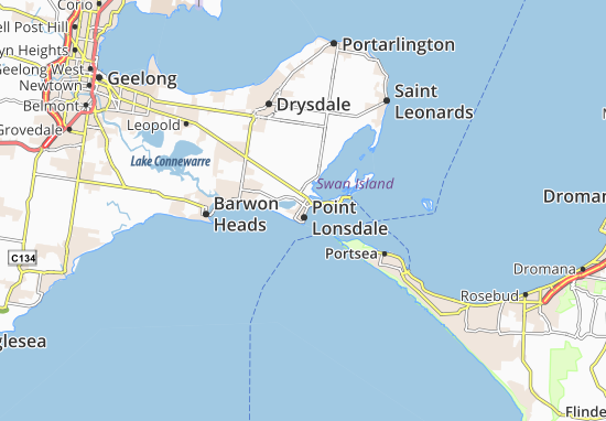 Point Lonsdale Map