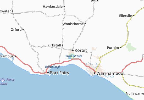 Koroit Map