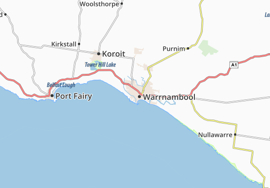 Warrnambool Map