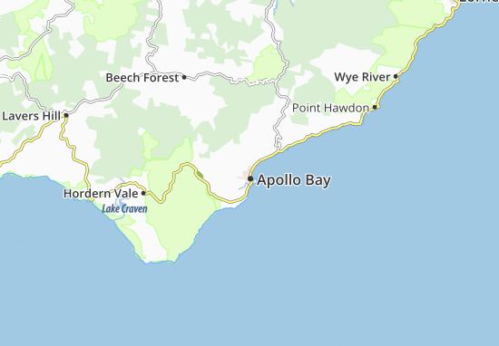 Carte-Plan Apollo Bay