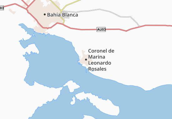 Mapa Plano Coronel de Marina Leonardo Rosales