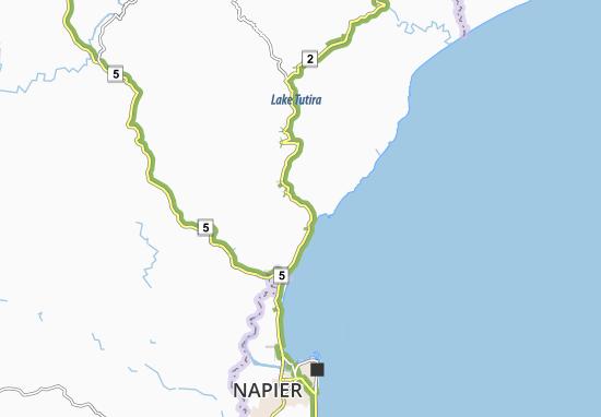 Tangoio Map