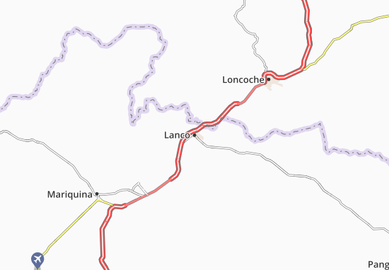 Mapas-Planos Lanco