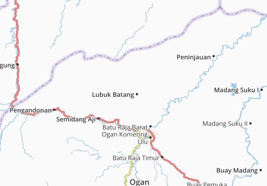 Lubuk Batang Map