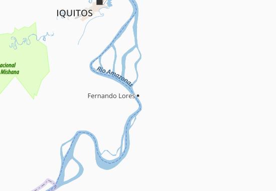 Carte-Plan Fernando Lores