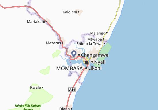 Changamwe Map