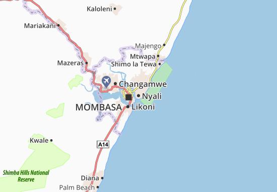 Mapa Nyali