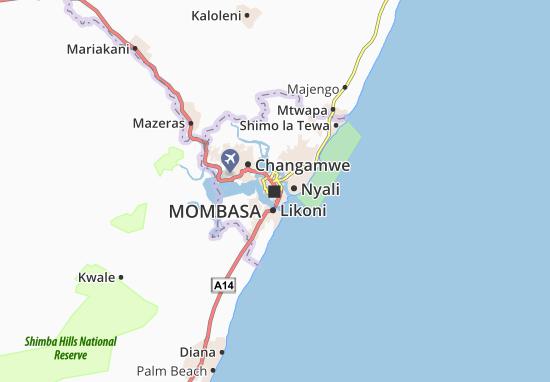 Mombasa Map