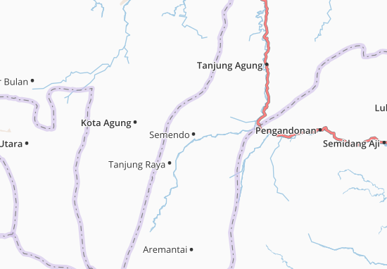 Semendo Map