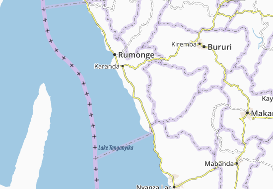 Kaart Plattegrond Karonda