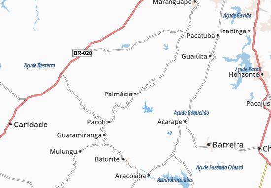 Mappe-Piantine Palmácia