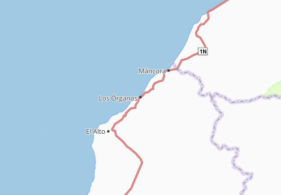 Los Órganos Map
