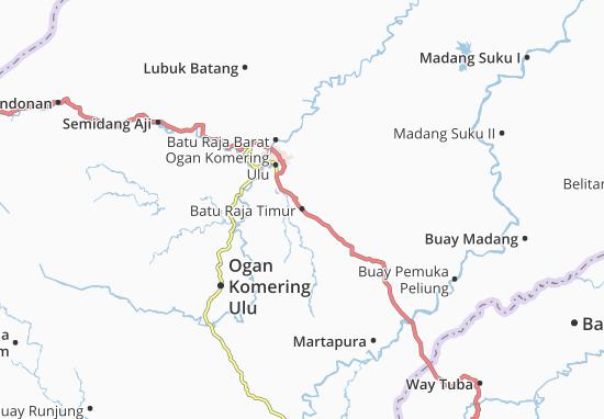Batu Raja Timur Map