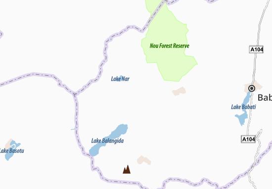 Mapa Plano Bashanet