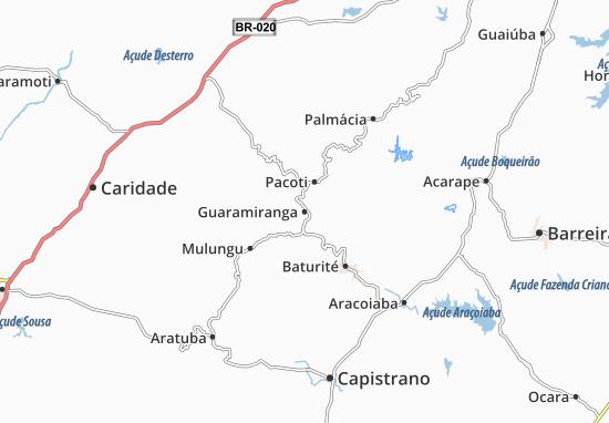 Carte-Plan Guaramiranga