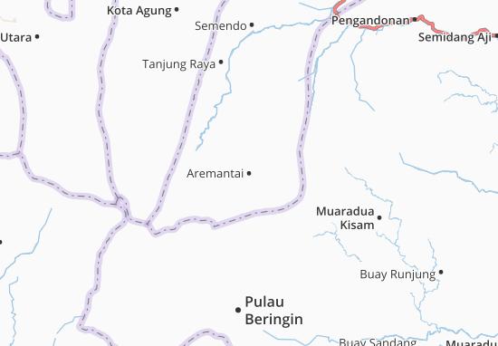 Aremantai Map