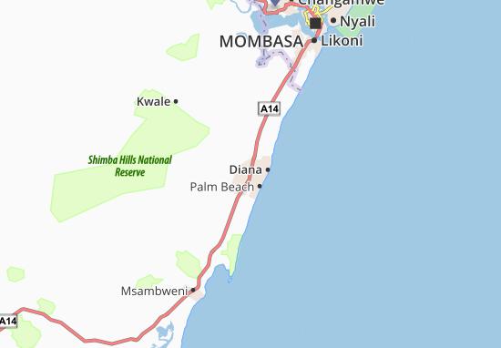 Mapas-Planos Ukunda