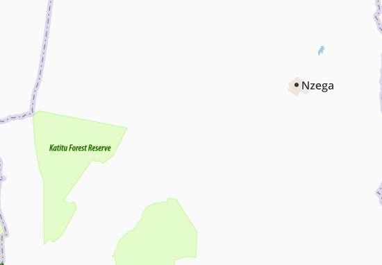 Mapa Plano Bulunde