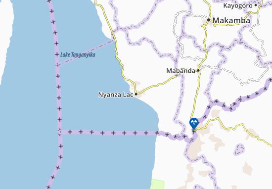 Nyanza Lac Map