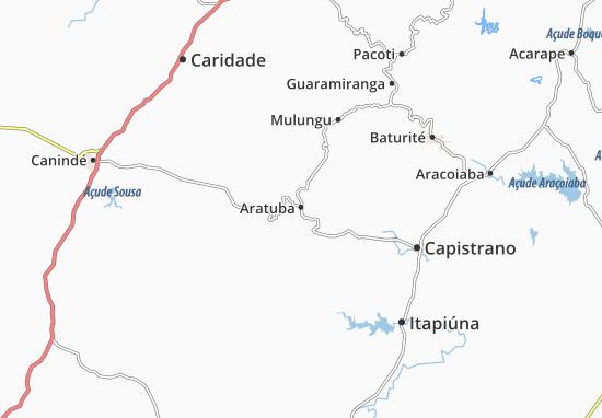Aratuba Map