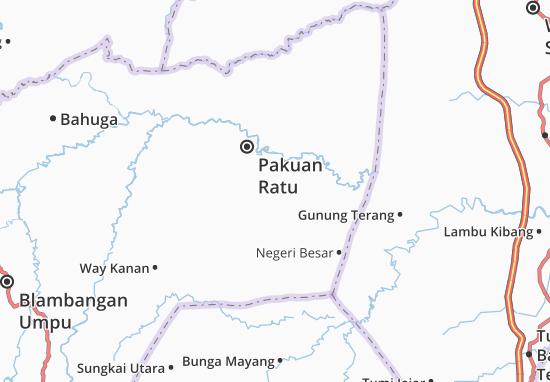 Carte-Plan Negara Batin