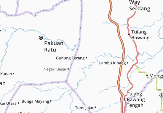 Carte-Plan Gunung Terang
