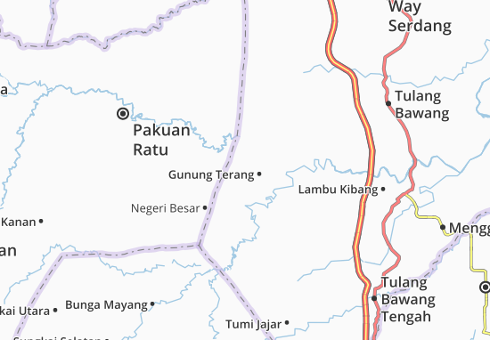 Carte-Plan Muara Sungkai