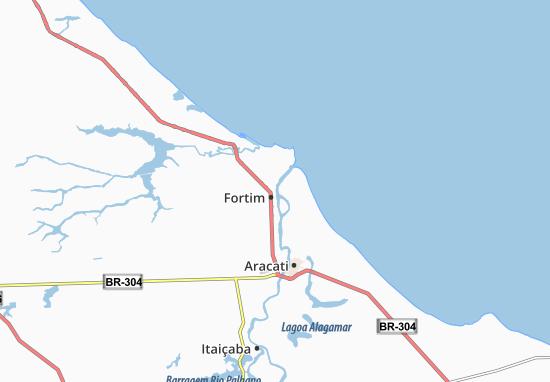 Kaart Plattegrond Fortim