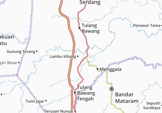 Lambu Kibang Map