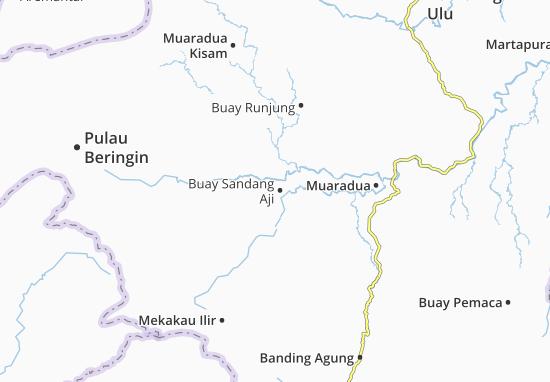 Buay Sandang Aji Map