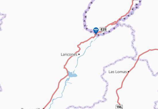 Kaart Plattegrond Lancones