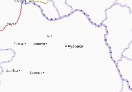 Ayabaca Map