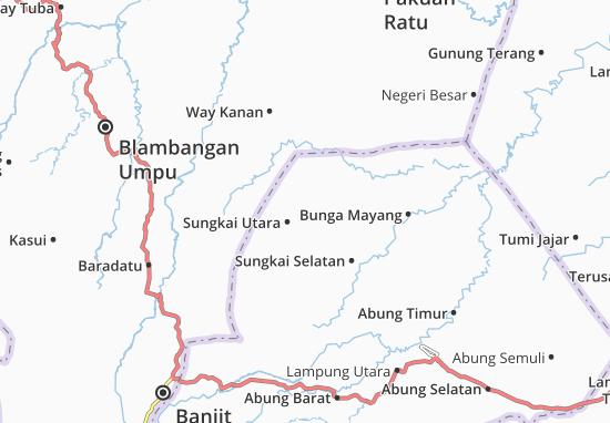 Carte-Plan Sungkai Utara