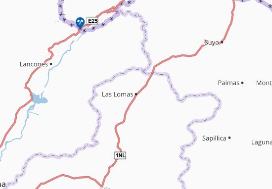 Mappe-Piantine Las Lomas