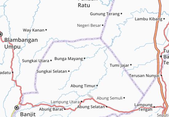 Carte-Plan Bunga Mayang