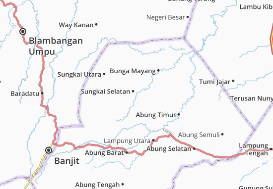 Carte-Plan Sungkai Selatan