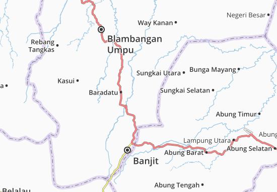 Carte-Plan Gunung Labuhan
