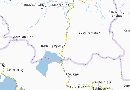 Mappe-Piantine Banding Agung