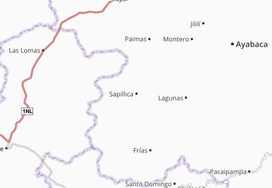 Sapillica Map