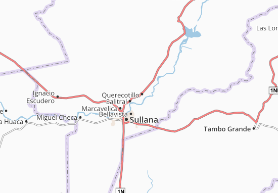 Querecotillo Map