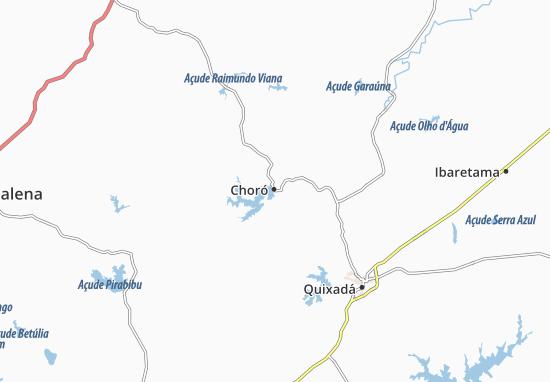 Choró Map