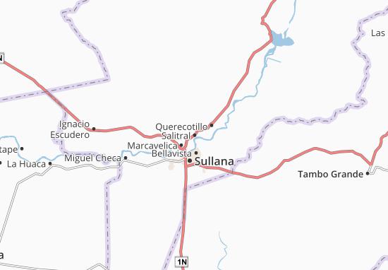 Kaart Plattegrond Salitral