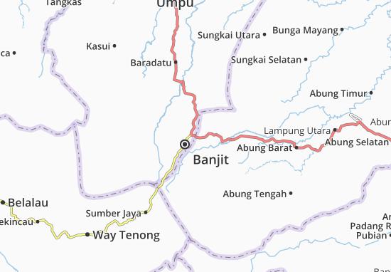 Carte-Plan Bukit Kemuning