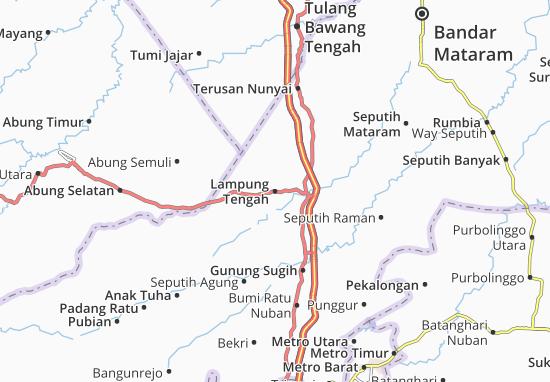 Mapas-Planos Lampung Tengah