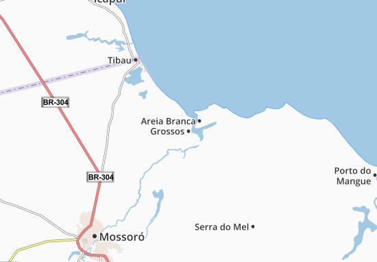 Kaart Plattegrond Grossos